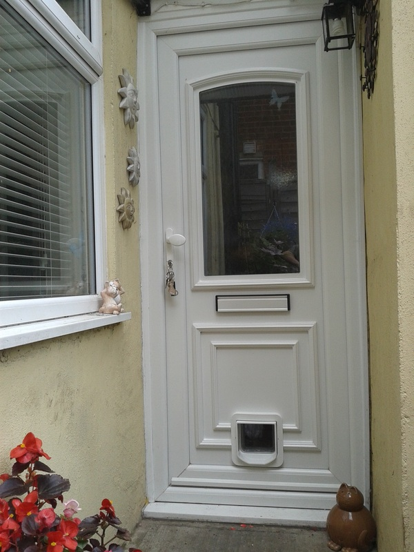 Testimonials what clients have said about my work for Upvc front doors fitted