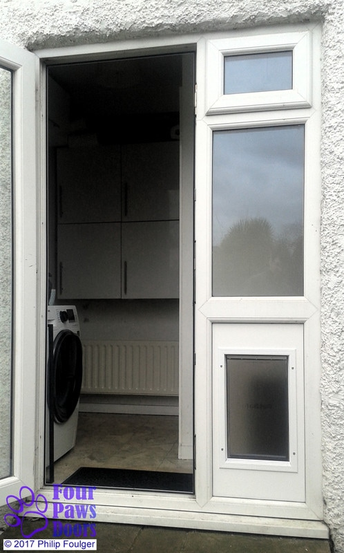 Diy fitting of cat flaps and dog doors for Double glazed doors fitted